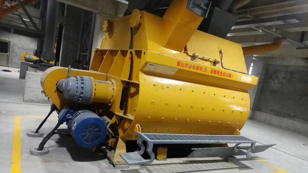 Concrete Mixer using a planetary gearbox